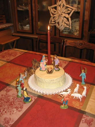 Jesus Birthday cake 002