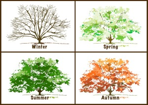 """The Four Seasons"" by Dixie Allan, About.com"
