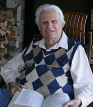 Billy Graham at age 95.  Photo courtesy of Billy Graham Evangelistic Association.