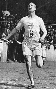 Eric Liddell.  Photo courtesy of Wikipedia.
