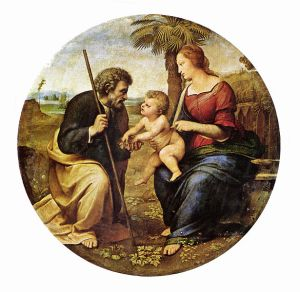"""The Holy Family"" by Raphael, 1506"