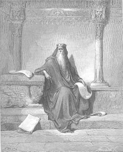 """King Solomon in His Old Age,"" By Gustave Doré"