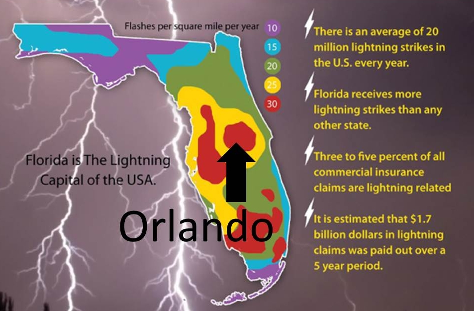 Florida lightning capital